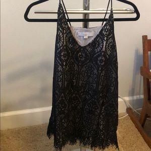 Loft Lace camisole blouse size M